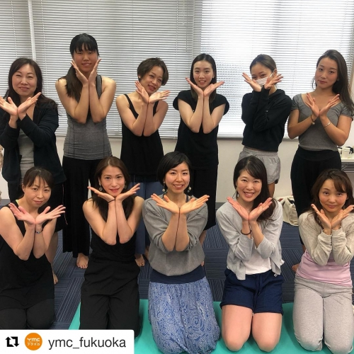 YMCメディカルトレナーズスクールのイベントレッスン(^^)