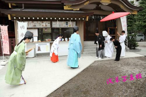 三社祭で盛り上がる浅草神社で結婚式!至急募集!!