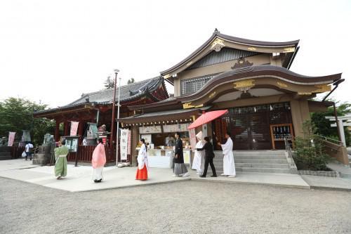 浅草で行う神前結婚式・毎週土日相談会開催中!