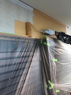 坂戸市で外壁塗装工事を施工しました
