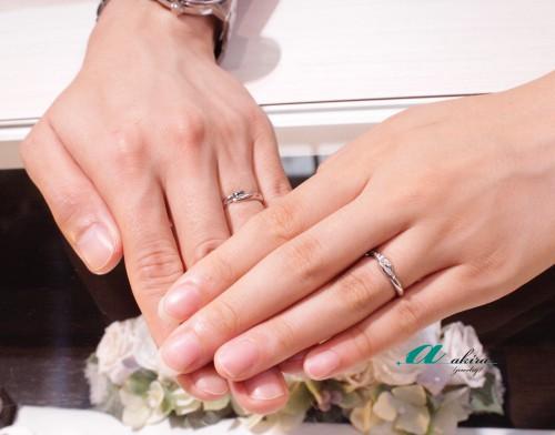 結婚指輪のご注文ありがとうございました