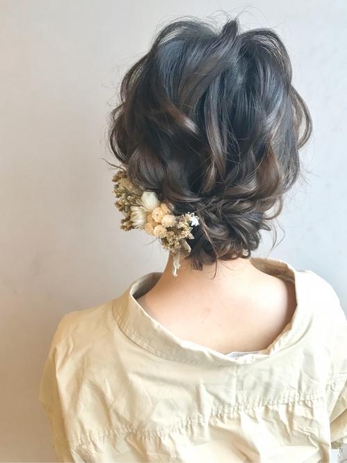 アップアレンジ まとめ髪 brambly