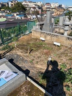 K57区「Y」様墓地
