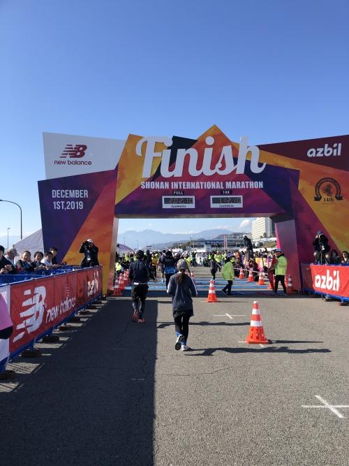湘南国際マラソン走りましたー