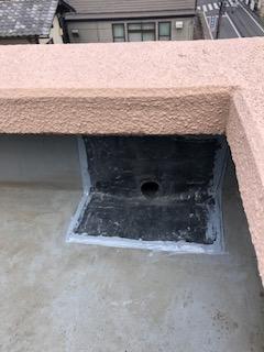 東松山市で雨漏り下地補修工事をしてきました