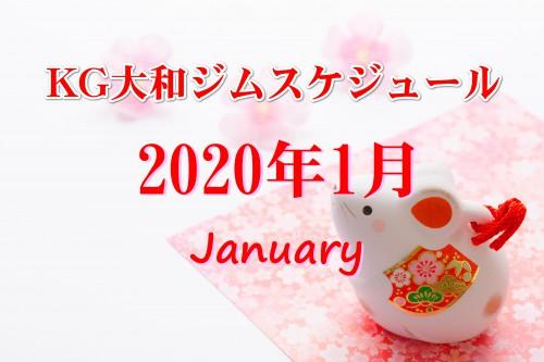 明けましておめでとうございます!1月のスケジュール