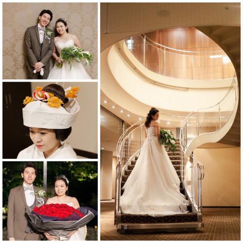 シェラトン都ホテル東京での結婚式♪