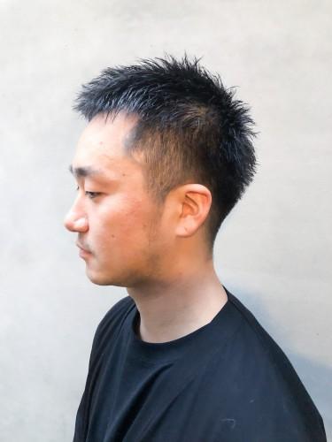 メンズヘア 刈り上げ フェード 短髪