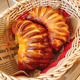 オニオンチーズパン