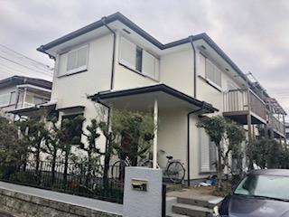 鶴ヶ島市にて屋根・外壁塗装工事が完了致しました