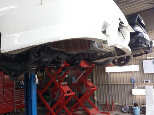 S14シルビア   デフ交換